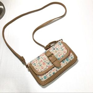 Claire's Canvas Wallet or Sling Bag